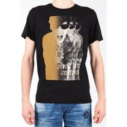 tekstylia Męskie T-shirty z krótkim rękawem Lee T-shirt  Photo Tee Black L60BAI01 czarny