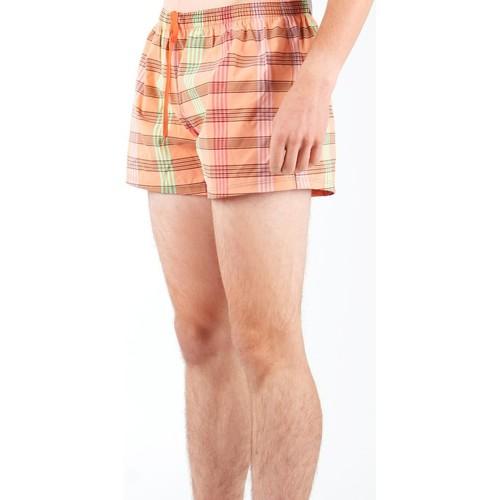 Zagano Spodenki Kąpielowe 1223-99 Pomarańczowy - Tekstylia Szorty I Bermudy Meskie 4740 Najniższa Cena
