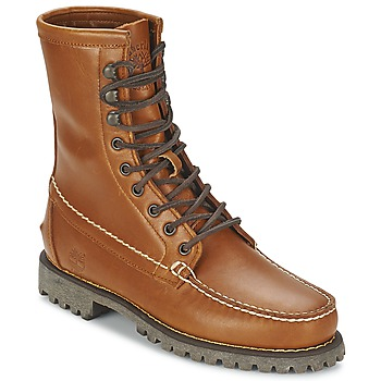 Buty Męskie Buty za kostkę Timberland AUTHENTICS 8 IN RUGGED HANDSEWN Earth / Cuite