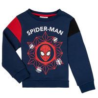 tekstylia Chłopiec Bluzy TEAM HEROES SPIDERMAN SWEAT Marine