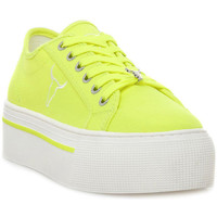 Buty Damskie Trampki niskie Windsor Smith RUBY CANVAS NEON YELLOW Giallo
