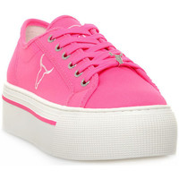 Buty Damskie Trampki niskie Windsor Smith RUBY CANVAS NEON PINK Rosa