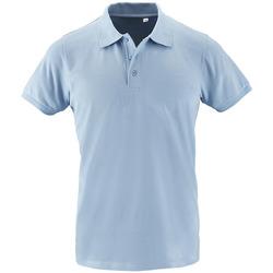 tekstylia Męskie Koszulki polo z krótkim rękawem Sols PHOENIX MEN SPORT Azul