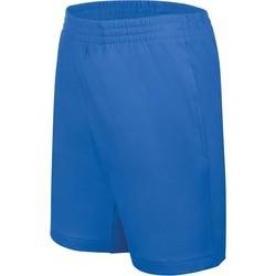 tekstylia Dziecko Szorty i Bermudy Proact Short enfant Jersey  Sport bleu marine