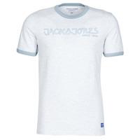 tekstylia Męskie T-shirty z krótkim rękawem Jack & Jones JORLEGEND Biały