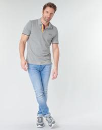 tekstylia Męskie Jeansy slim fit Jack & Jones JJILIAM Niebieski / Clair