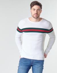 tekstylia Męskie Swetry Yurban MIRANDA Biały