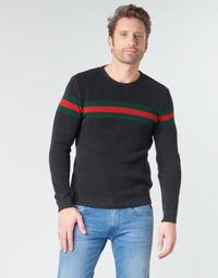 tekstylia Męskie Swetry Yurban BAOLI Czarny