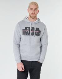 tekstylia Męskie Bluzy Casual Attitude Star Wars Bar Code Szary