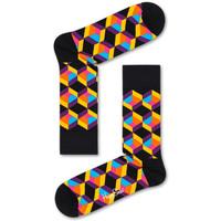 Dodatki Męskie Skarpety Happy Socks Optiq square sock Wielokolorowy