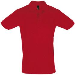 tekstylia Męskie Koszulki polo z krótkim rękawem Sols PERFECT COLORS MEN Rojo