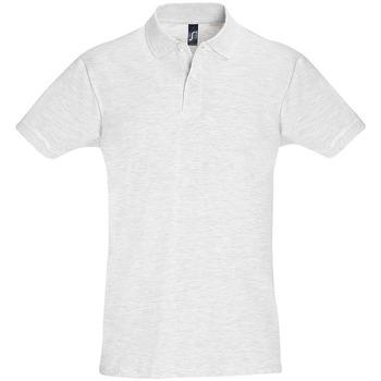 tekstylia Męskie Koszulki polo z krótkim rękawem Sols PERFECT COLORS MEN Gris