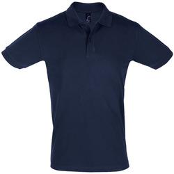 tekstylia Męskie Koszulki polo z krótkim rękawem Sols PERFECT COLORS MEN Azul