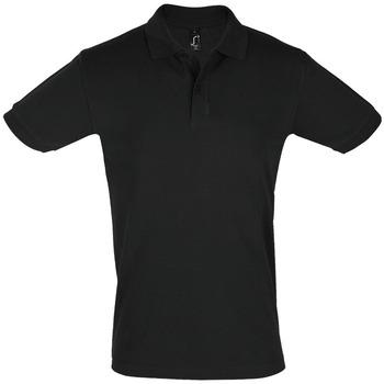 tekstylia Męskie Koszulki polo z krótkim rękawem Sols PERFECT COLORS MEN Negro