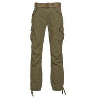 tekstylia Męskie Spodnie bojówki Schott BATTLE KAKI