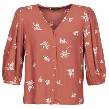 tekstylia Damskie Koszule Vero Moda VMJILLEY Bordeaux
