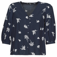tekstylia Damskie Koszule Vero Moda VMJILLEY Marine