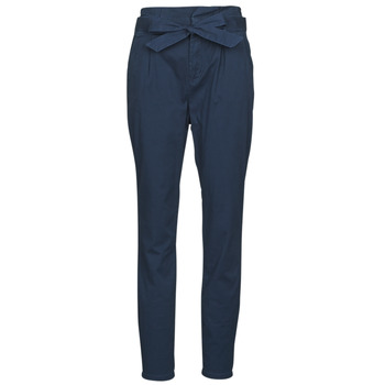 tekstylia Damskie Spodnie z pięcioma kieszeniami Vero Moda VMEVA Marine