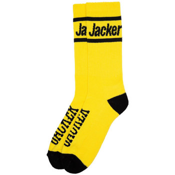 Dodatki Męskie Skarpety Jacker Holy molley socks Żółty