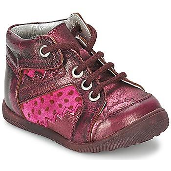 Buty Dziewczynka Buty za kostkę Catimini CABILLAUD Różowy / Brązowy