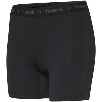 tekstylia Damskie Szorty i Bermudy Hummel Short femme  Perofmance Hipster noir
