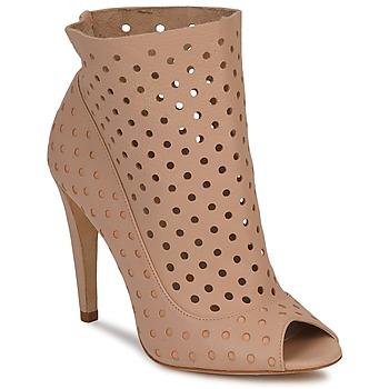 Buty Damskie Low boots Bourne RITA Nude