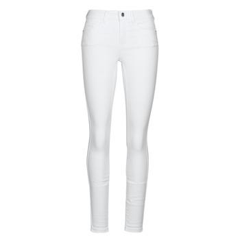 tekstylia Damskie Jeansy slim fit Vero Moda VMSEVEN Biały