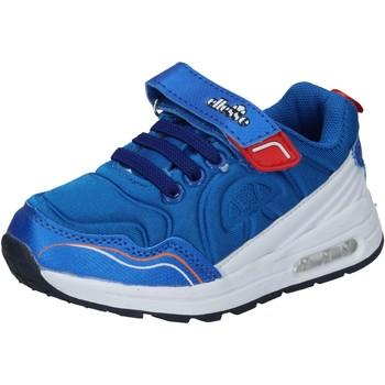 Buty Chłopiec Trampki niskie Ellesse sneakers tessuto pelle sintetica Blu