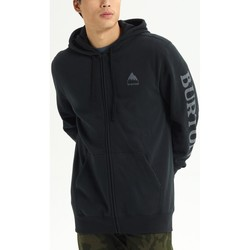 tekstylia Męskie Bluzy Burton Men's Elite Full Zip Hoodie True Black