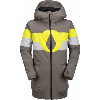 tekstylia Chłopiec Polary Volcom Boys West Snowboard Jacket CHR