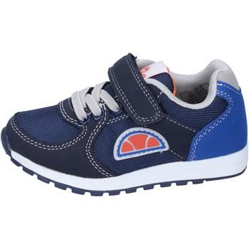 Buty Chłopiec Trampki niskie Ellesse sneakers tela Blu