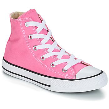 Buty Dziewczynka Trampki wysokie Converse CHUCK TAYLOR ALL STAR CORE HI Różowy