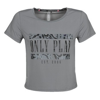 tekstylia Damskie T-shirty z krótkim rękawem Only Play  Szary