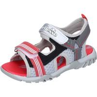 Buty Chłopiec Sandały Ellesse sandali pelle sintetica tessuto Grigio