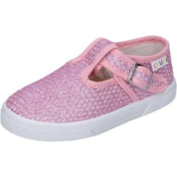 Buty Dziewczynka Trampki niskie Enrico Coveri sneakers tessuto Rosa