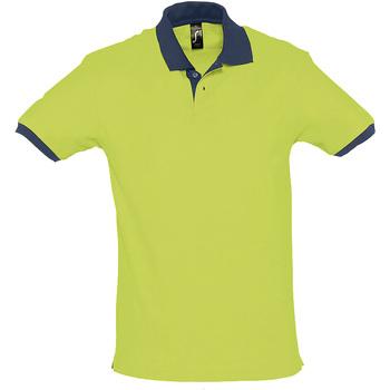 tekstylia Koszulki polo z krótkim rękawem Sols PRINCE COLORS Verde
