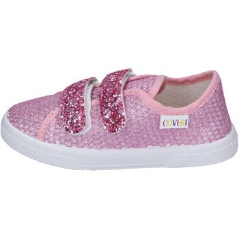 Buty Dziewczynka Trampki Enrico Coveri sneakers tessuto Rosa