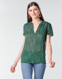 tekstylia Damskie Topy / Bluzki Ikks BR11055 Zielony