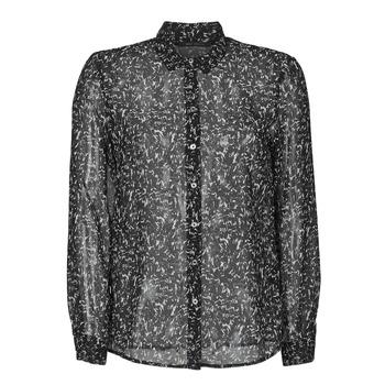 tekstylia Damskie Koszule Ikks BR12025 Czarny
