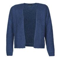 tekstylia Damskie Swetry rozpinane / Kardigany Ikks BR17015 Marine