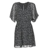 tekstylia Damskie Sukienki krótkie Ikks BR30075 Czarny