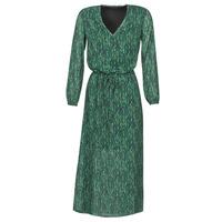 tekstylia Damskie Sukienki długie Ikks BR30095 Zielony