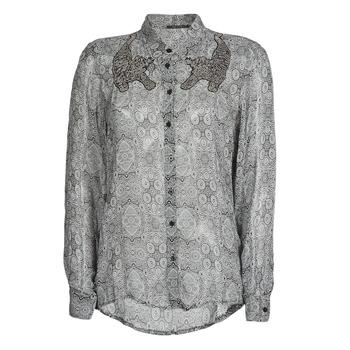 tekstylia Damskie Koszule Ikks BR12055 Czarny