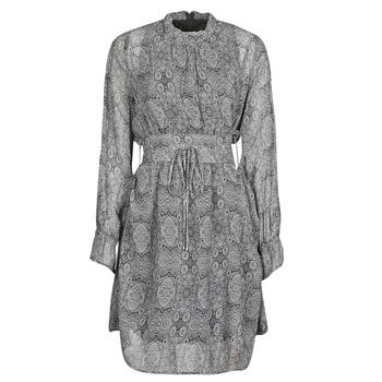 tekstylia Damskie Sukienki krótkie Ikks BR30165 Szary