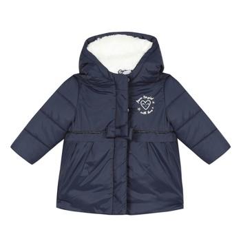 tekstylia Dziewczynka Kurtki pikowane 3 Pommes 3R42012-49 Marine