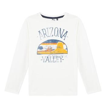 tekstylia Chłopiec T-shirty z długim rękawem 3 Pommes 3R10005-19-C Biały