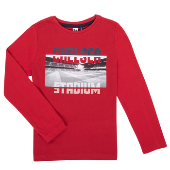 tekstylia Chłopiec T-shirty z długim rękawem 3 Pommes 3R10015-37-C Czerwony