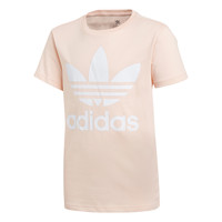 tekstylia Dziewczynka T-shirty z krótkim rękawem adidas Originals TREFOIL TEE Różowy