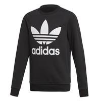 tekstylia Dziecko Bluzy adidas Originals TREFOIL CREW Czarny