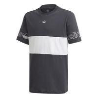 tekstylia Chłopiec T-shirty z krótkim rękawem adidas Originals PANEL TEE Szary / Biały